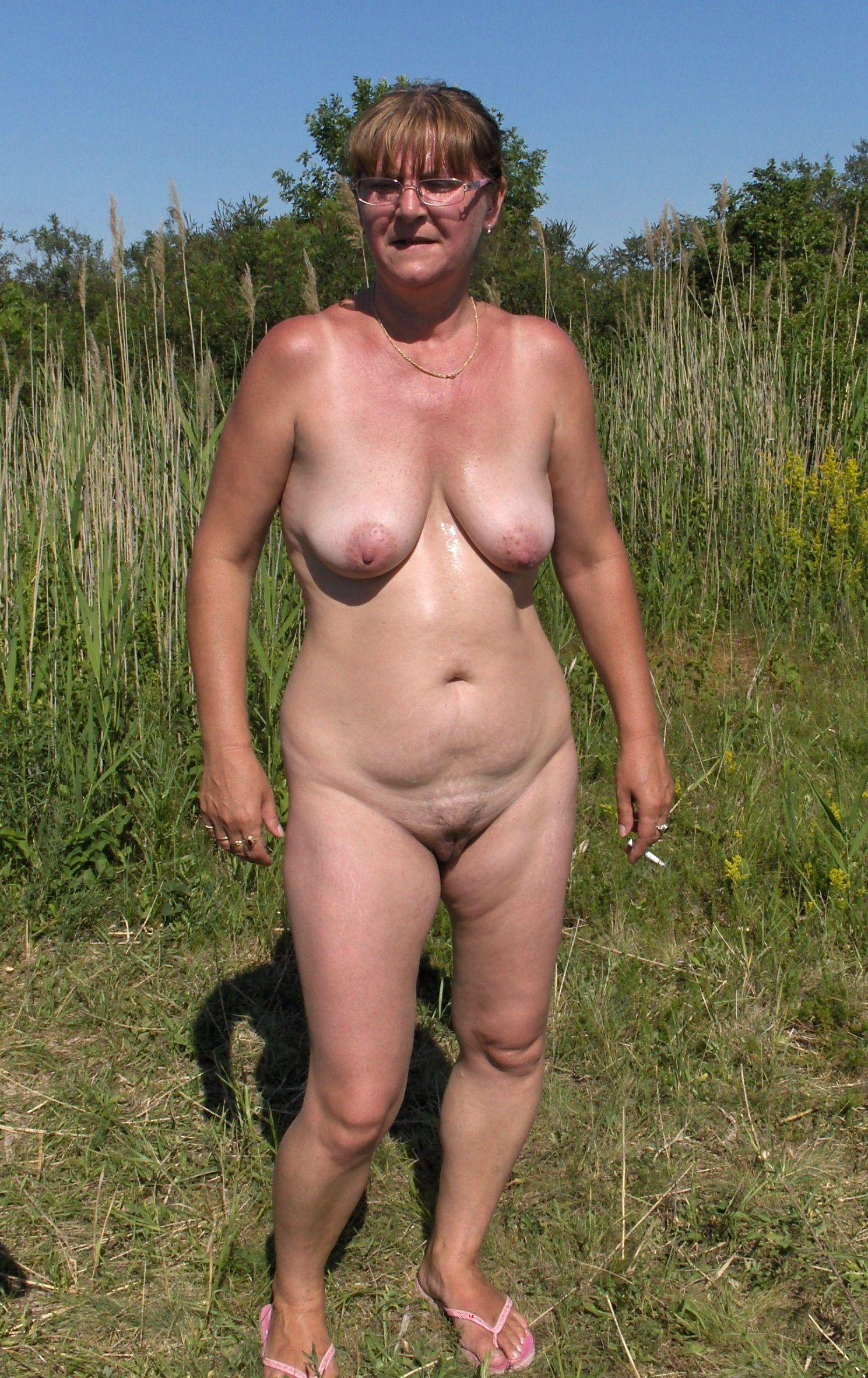 Hairy mature mom nude something is