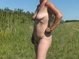 Doris Naked Outdoors