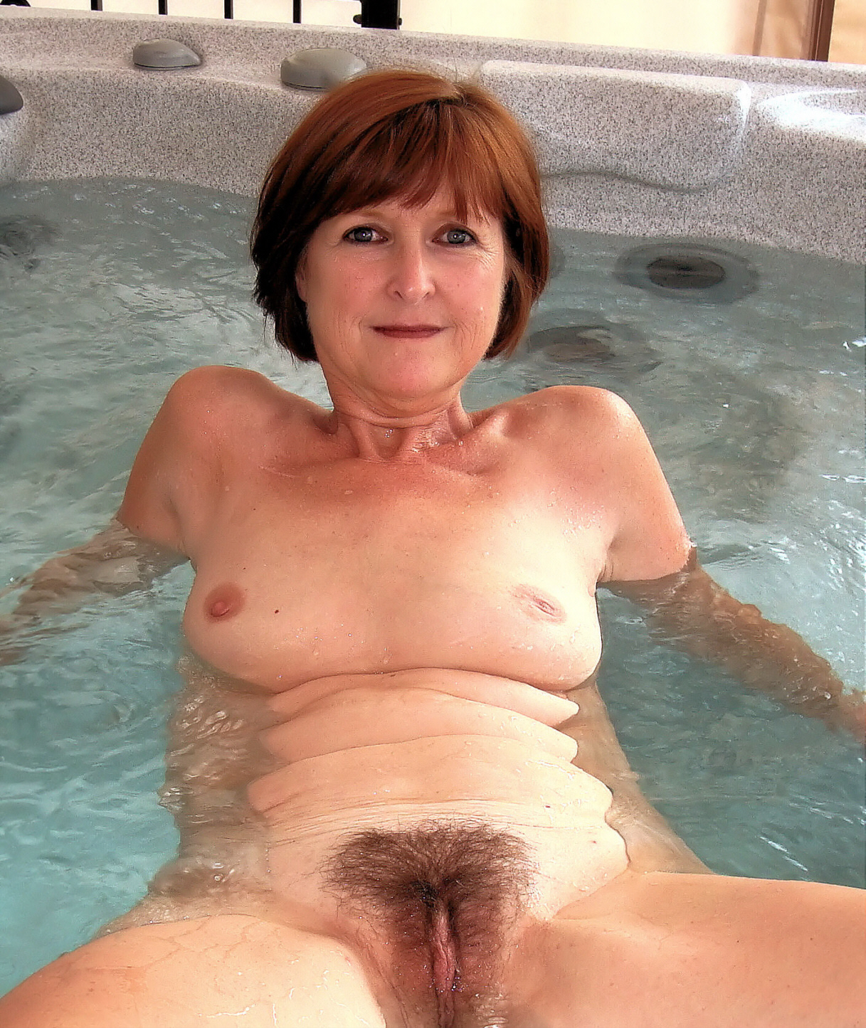 Sexy older wife naked