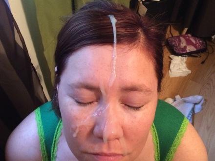Amateur wife facial